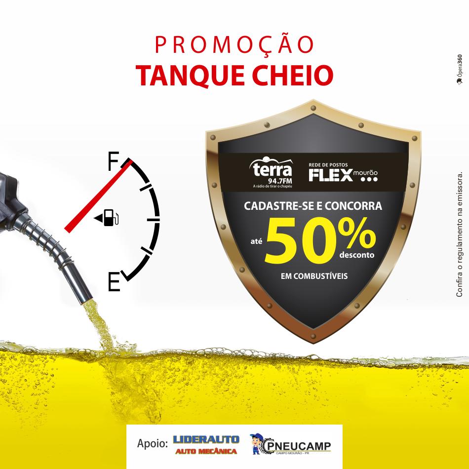 Banner Tanque Cheio Terra FM
