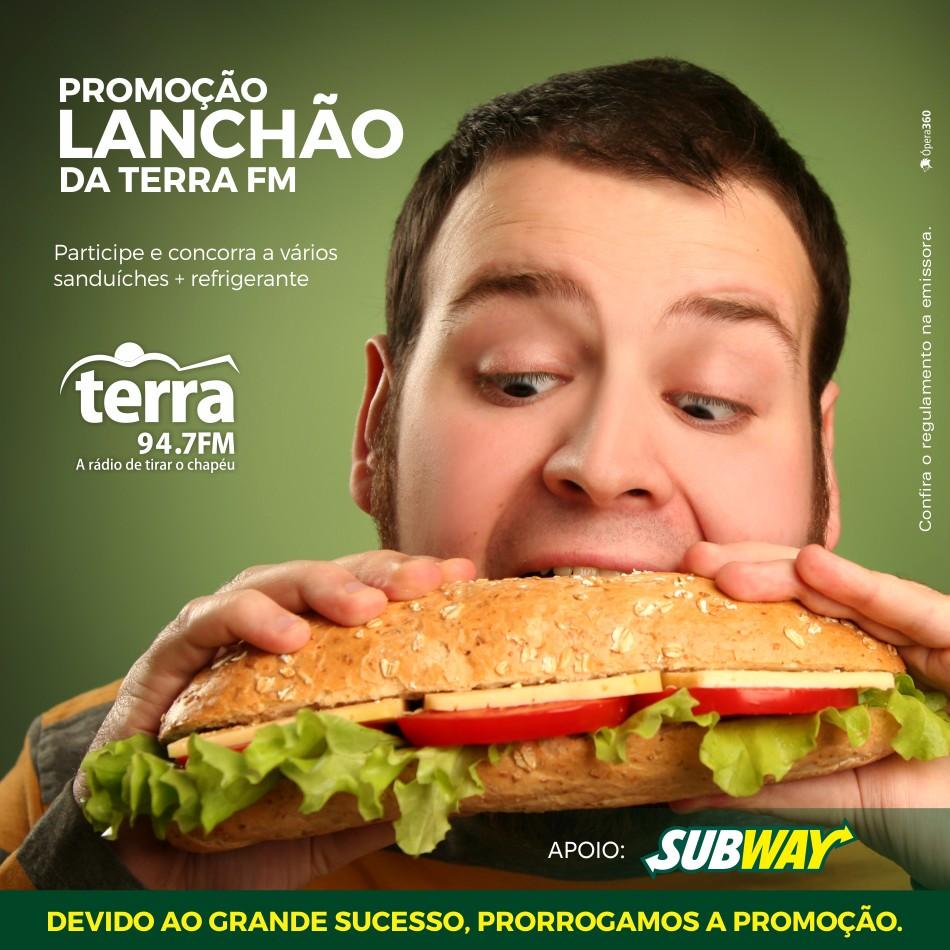 Banner Lanchão da Terra FM
