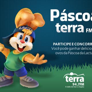 PROMOÇÃO DE PÁSCOA da TERRA FM