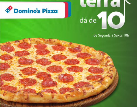 Dominos no Terra dá de 10