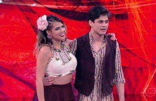 Ator Lucas Veloso está namorando sua dupla da Dança dos Famosos