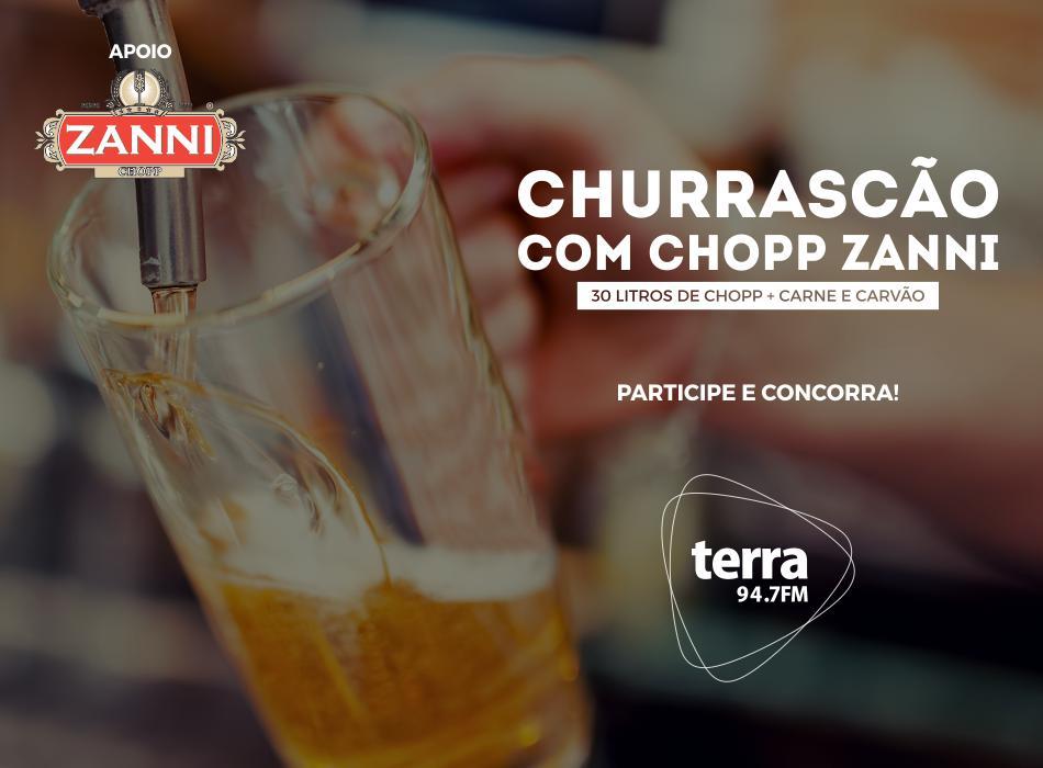Banner Churrascão com Chopp Zanni