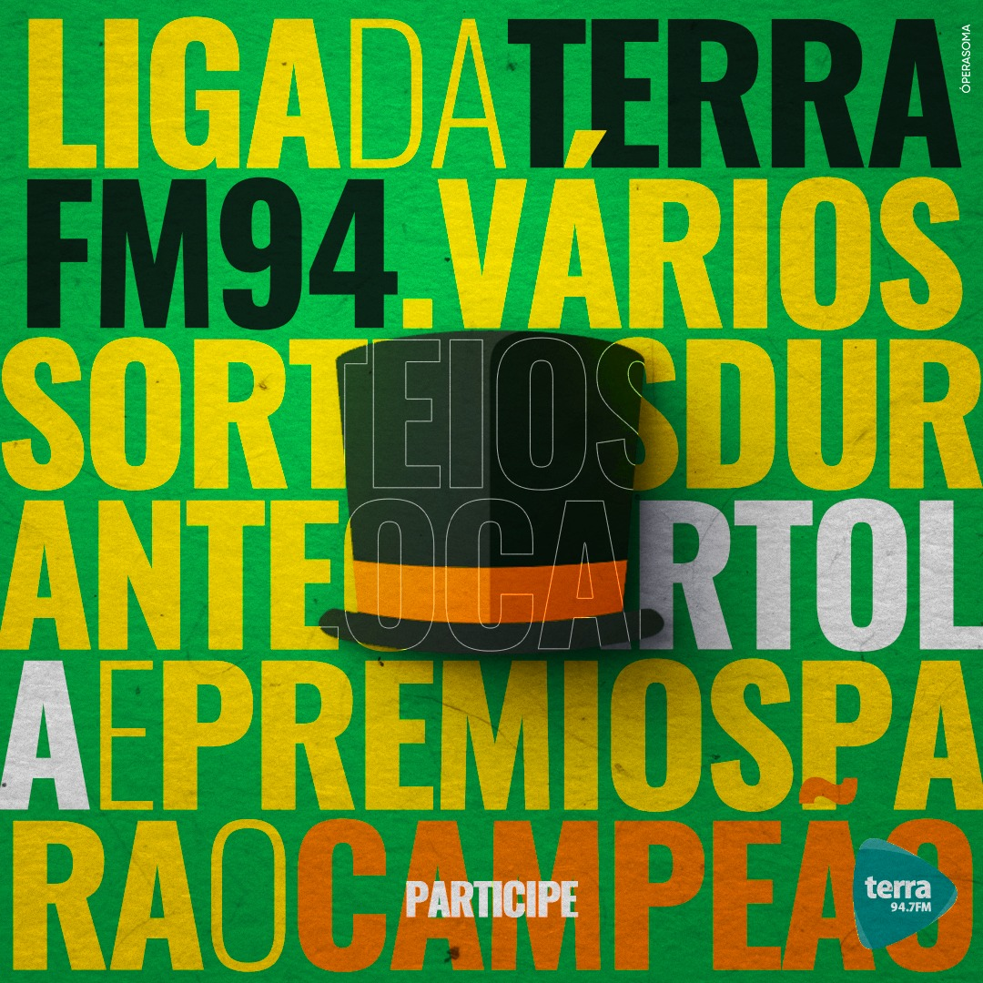 Banner Liga da Terra Cartola 2019