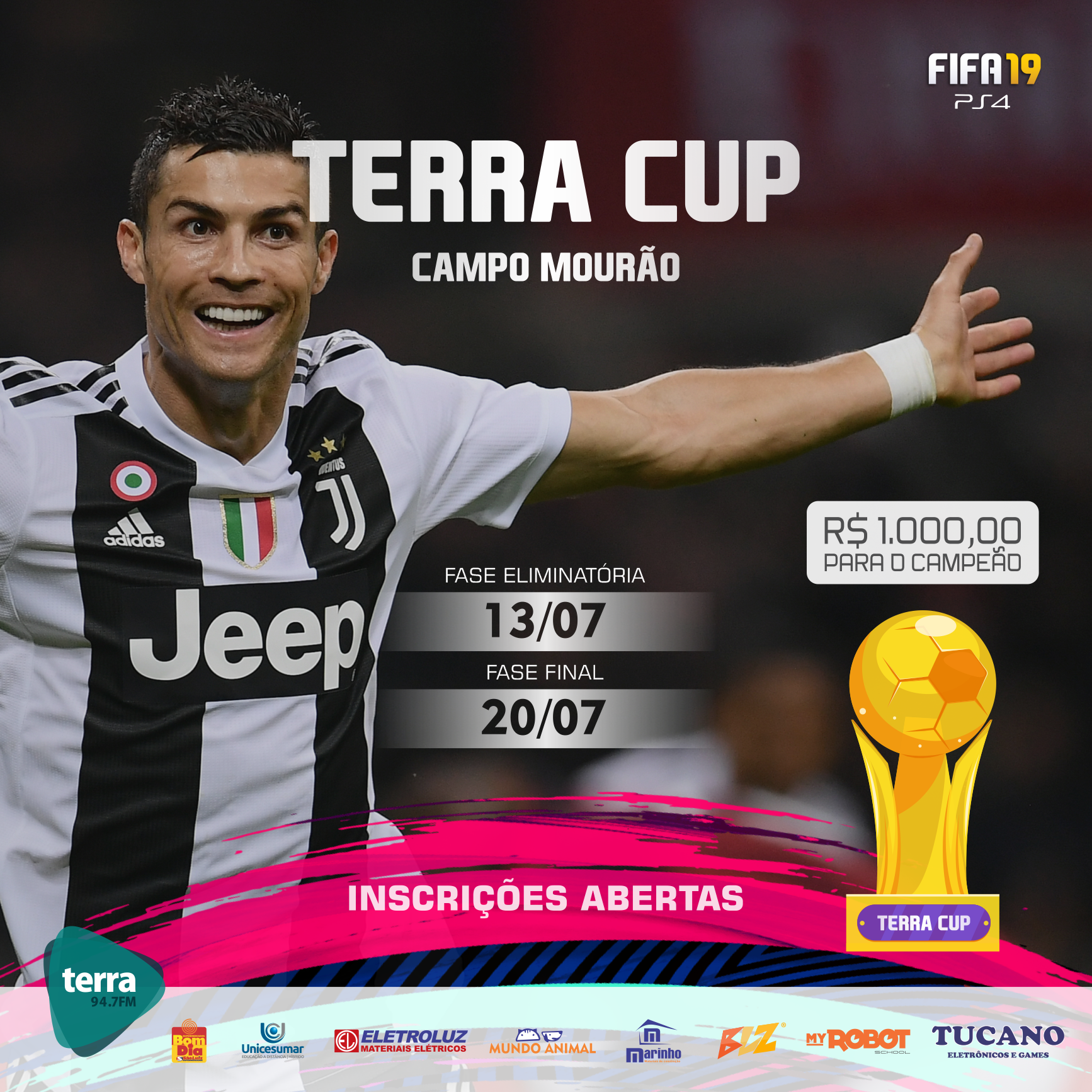 Banner Terra Cup – 3ª edição
