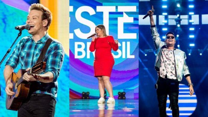 Globo grava especial de fim de ano com artistas sertanejos