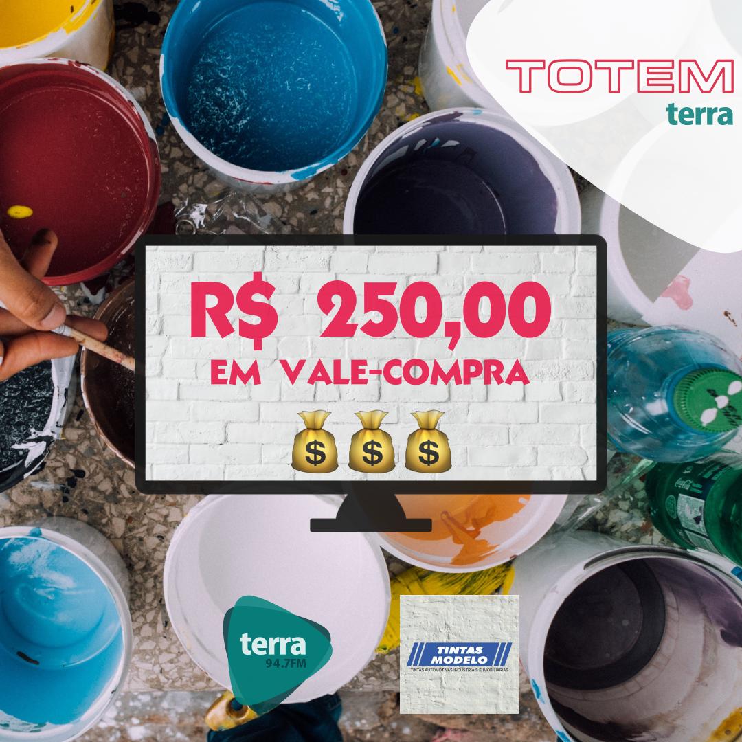 Banner Totem – Tintas Modelo