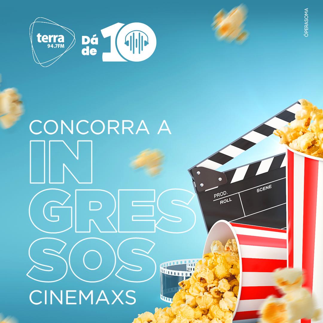 Banner Cinemaxs no Terra dá de 10