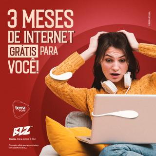 3 Meses de Internet Grátis