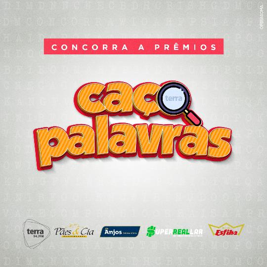 Banner Caça Palavras