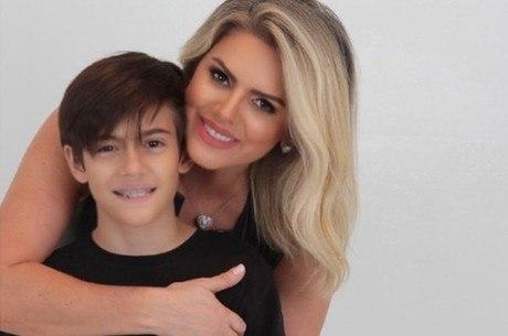 Mari Alexandre diz que Fábio Júnior não vê o filho por causa do ciúmes da atual mulher