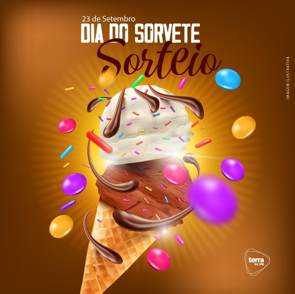 Banner DIA DO SORVETE