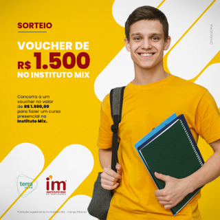 VOUCHER 1.500 REAIS – INSTITUTO MIX