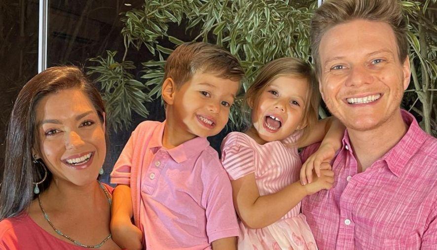 Michel Teló e Thais Fersoza notam lado artístico de filhos, Melinda e Teodoro: 'Despertando'