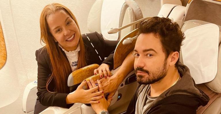 Fernando Zor pede Maiara em casamento em Dubai