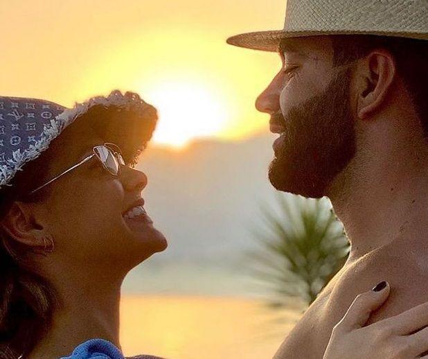 Gusttavo Lima e Suita transformam RJ em ninho de amor quase secreto