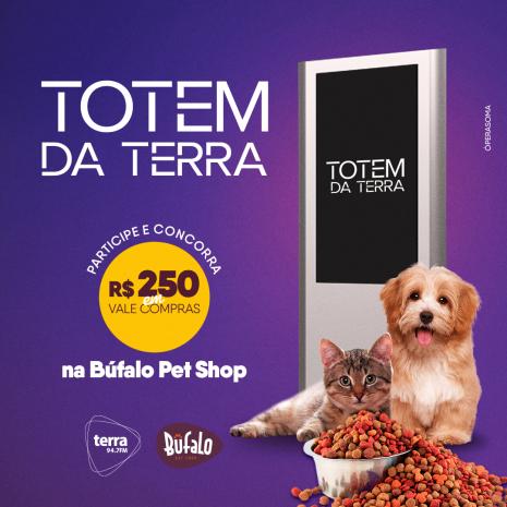 R$ 250,00 NA BUFALO PET SHOP