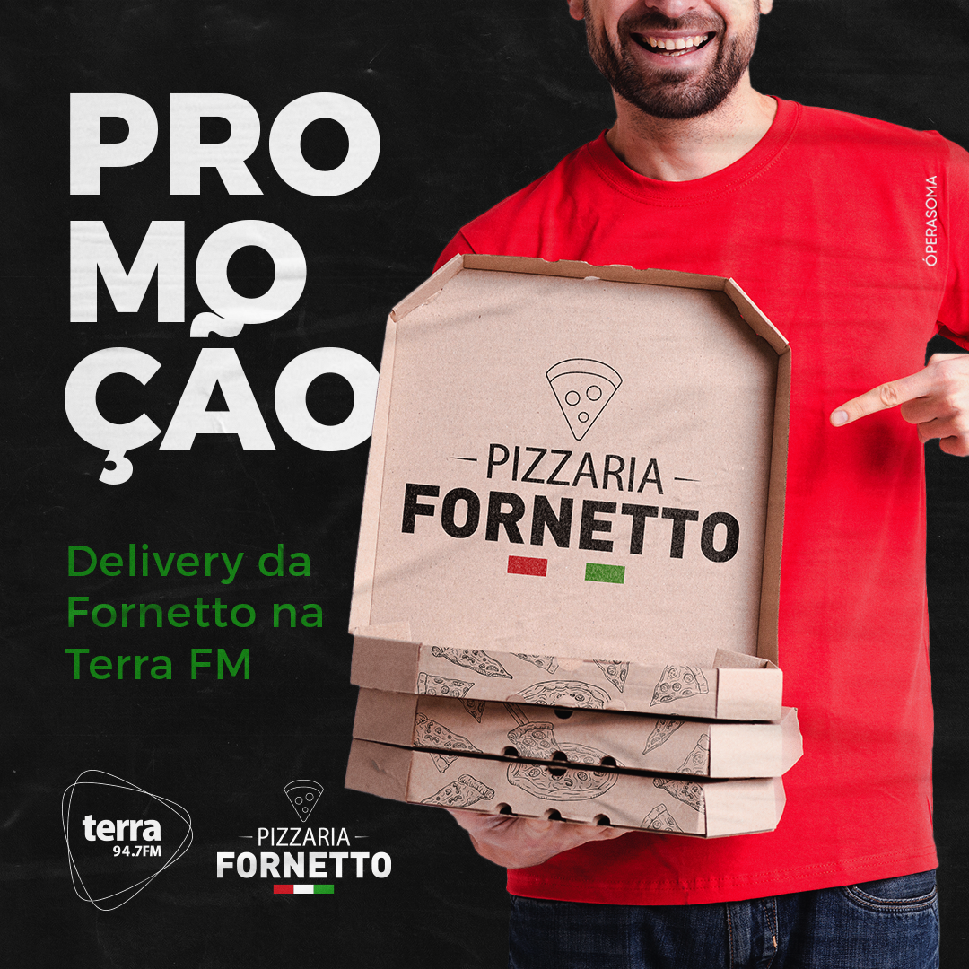 Banner Delivery Fornetto Terra FM