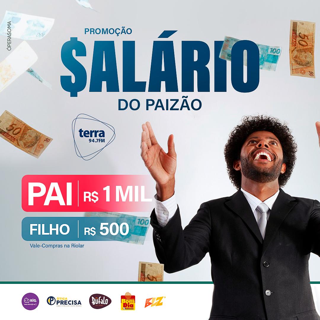 Banner SALÁRIO DO PAIZÃO