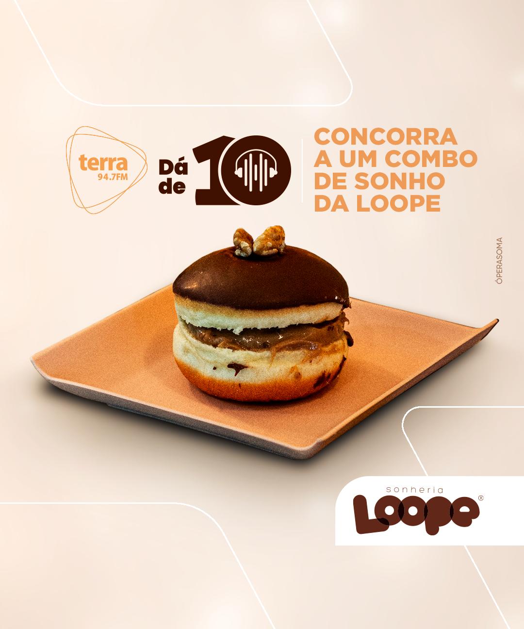 Banner LOOPE NO TERRA DÁ DE 10