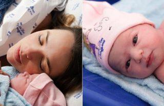 Cantora Thaeme revela primeiras fotos da filha
